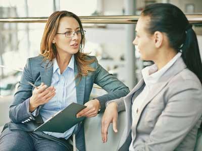 Umfassende Beratung - suchen Sie das persönliche Gespräch